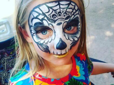 Full Face Face Painting_Dog_Zippy Entertainment