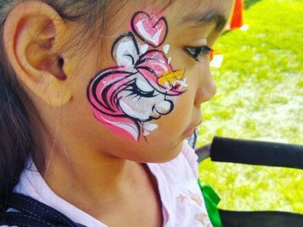 Full Face Face Painting_Pony_Hoorse_Zippy Entertainment