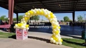 Popcorn Arch by Zippy Entertainment